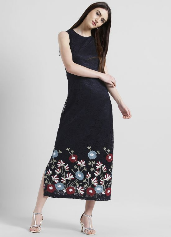 Solid Maxi Dress for Women