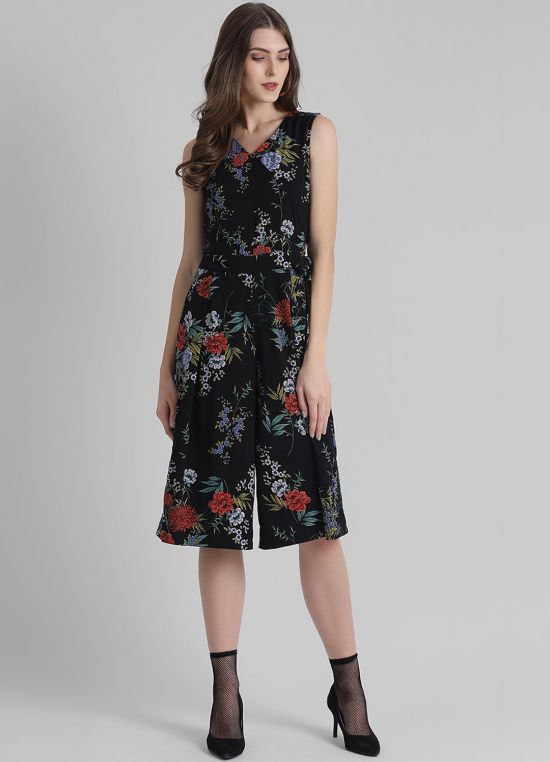 Women's Floral Printed Jumpsuit