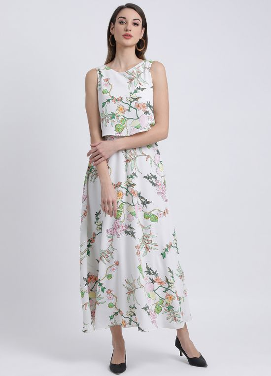 Floral Bales Maxi Dress for Women