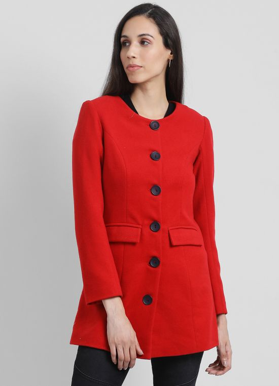 Manhattan Red Trench