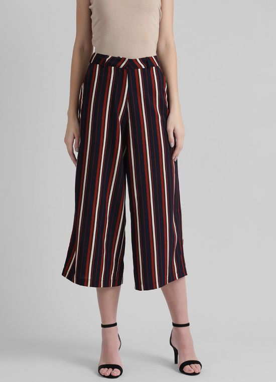 Women's Striped Culottes