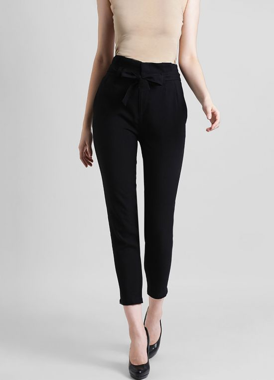 Women's Solid Tapered Fit Jodhpuri Pant