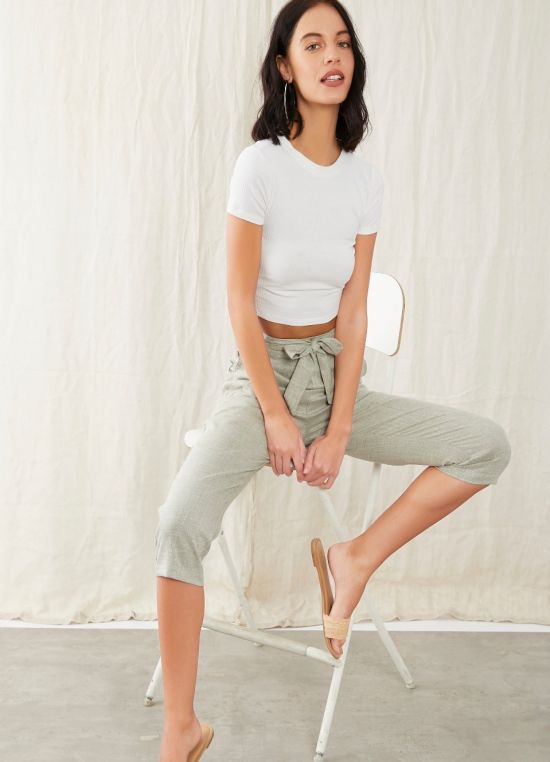 Grey Code Trousers  for Women
