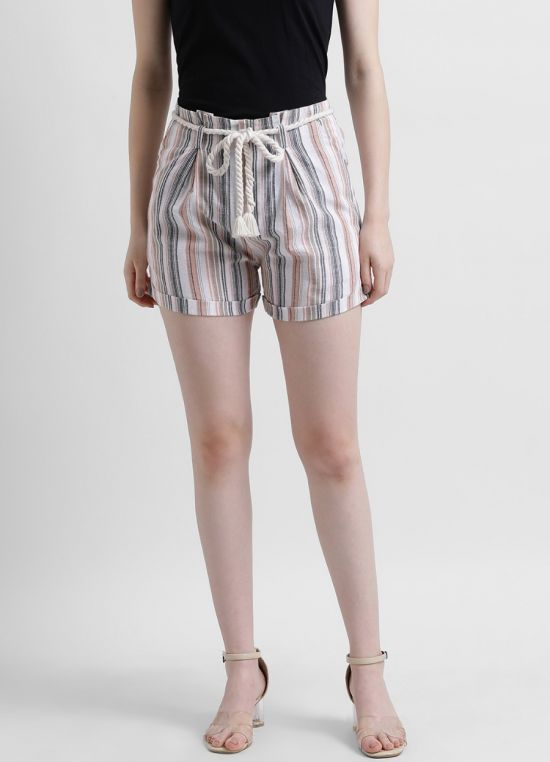 Stripes Hot Pant