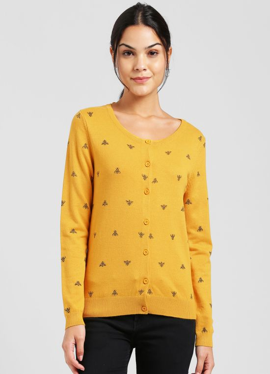Yellow Pullover for Women