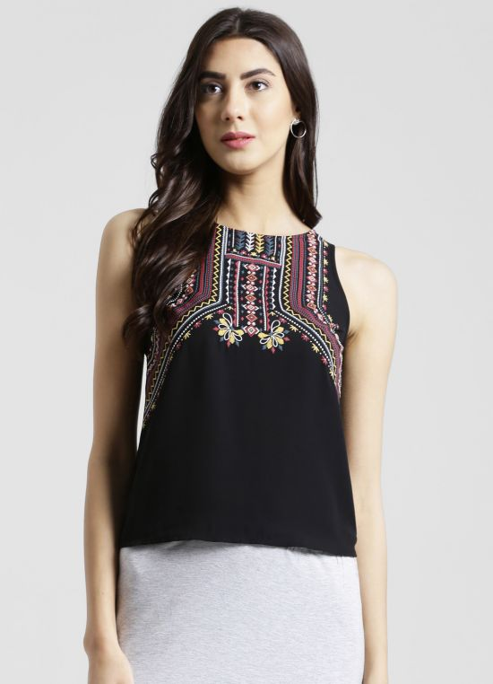 Sleeveless Printed Tank Top for Women