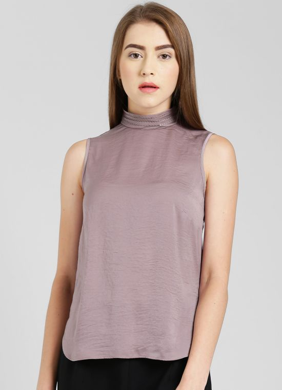 Taupe Top for Women