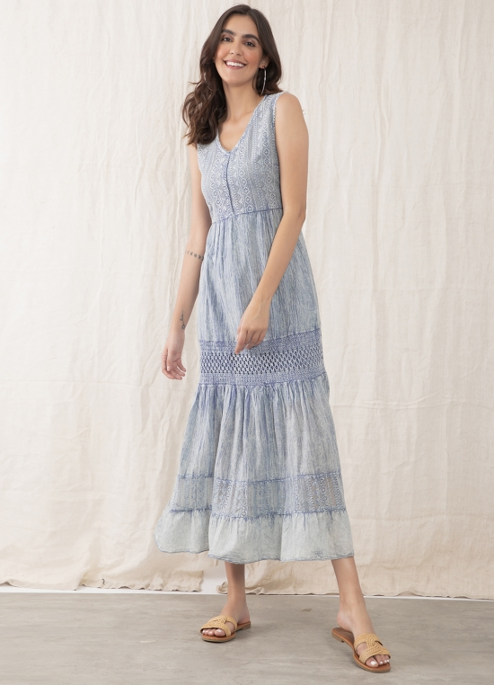 Dyed In Paradise Maxi Dress for Women